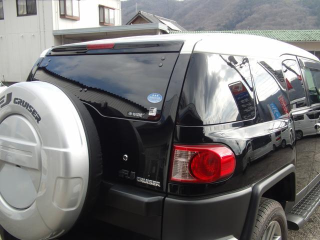 トヨタ FJクルーザー カラーパッケージ ワンオーナー