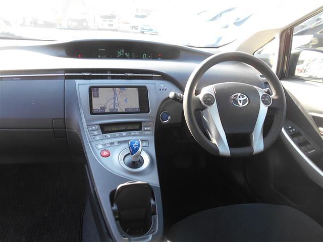 トヨタ プリウス S HDDナビ バックカメラ