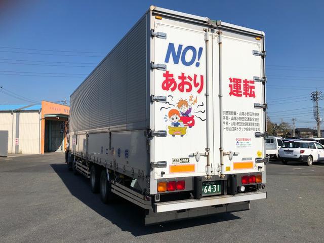 ウィングトラック 10トン エスコットフォー ナビ ドラレコ バックカメラ ETC(6枚目)