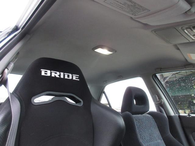 SiR-T カーボンB サブコン RAYS16 BRIDE(12枚目)