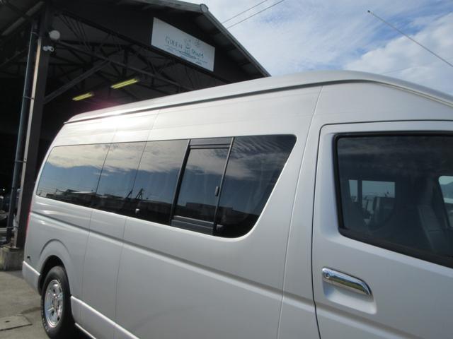 DX GLパッケージ キャンピングカー 最大4人就寝可能 サブバッテリー 電子レンジ 冷蔵庫 シンク 外部100ボルト電源 ブルートゥースナビ リヤテレビ サイドタープ付き リヤクーラー&ヒーター(34枚目)