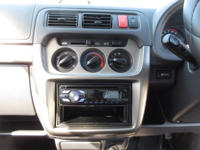 M 車検18か月 4WD マニュアル5速 カロッツェリアオーディオ リヤ荷台フラット アルミホイール(14枚目)