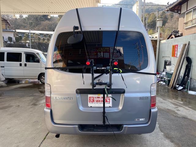 3.0 DX スーパーロングボディ ハイルーフ ディーゼルターボ 5人乗7都県市減少装置キャンピング車中泊(6枚目)