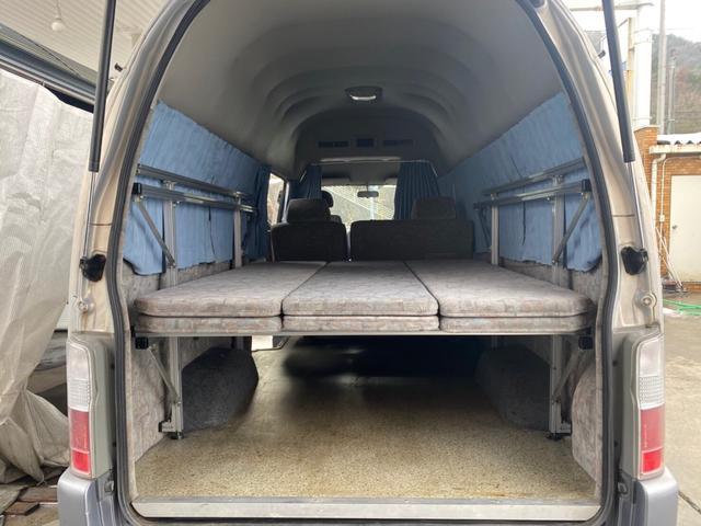 3.0 DX スーパーロングボディ ハイルーフ ディーゼルターボ 5人乗7都県市減少装置キャンピング車中泊(16枚目)