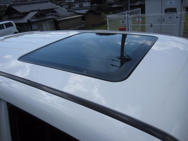 三菱 パジェロ 決算最終処分価格・スーパーエクシード・黒革シート・サンルーフ