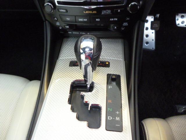 レクサス IS F ベースグレード 革 ETC ナビ サンルーフ Rカメラ