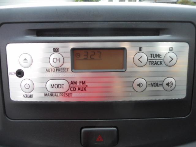 ダイハツ ミライース X キーレス CD アイドリングストップ CVT