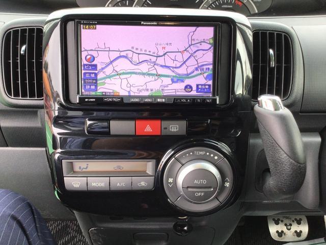 カスタムXリミテッド スマートキー 左側電動スライドドア パナソニックナビ フルセグTV ETC オートエアコン HIDヘッドライト フォグランプ(24枚目)