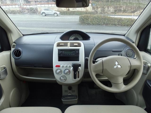 三菱 eKワゴン MS 左側電動スライドドア CD キ-レス ベンチシート