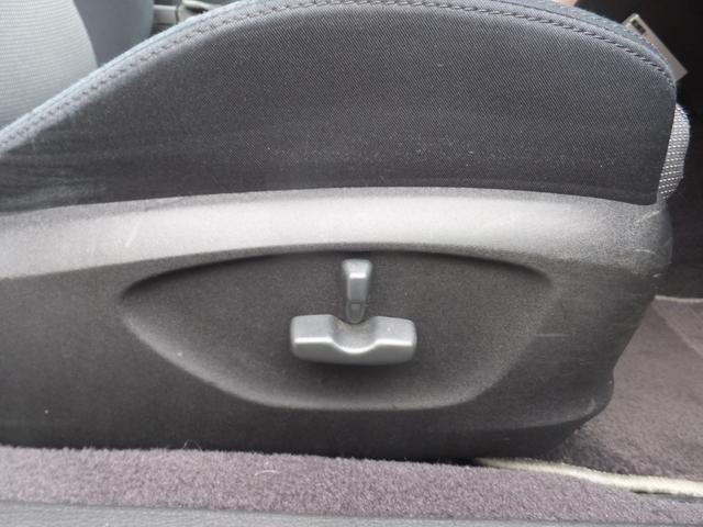 運転席パワーシート!