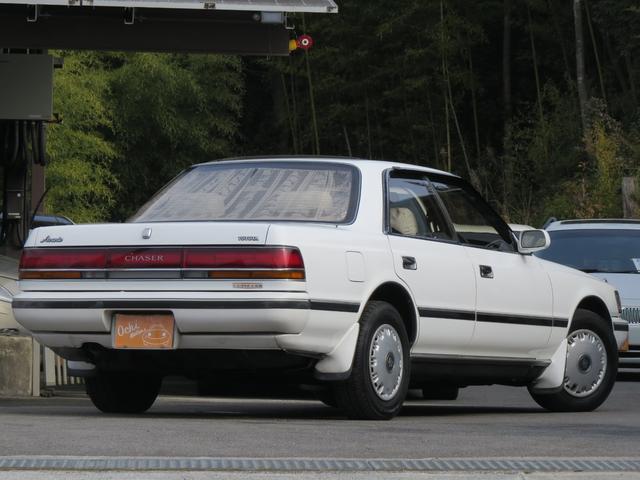 トヨタ チェイサー アバンテ 禁煙・新車ビニール付・フルノーマル 1G ホワイト
