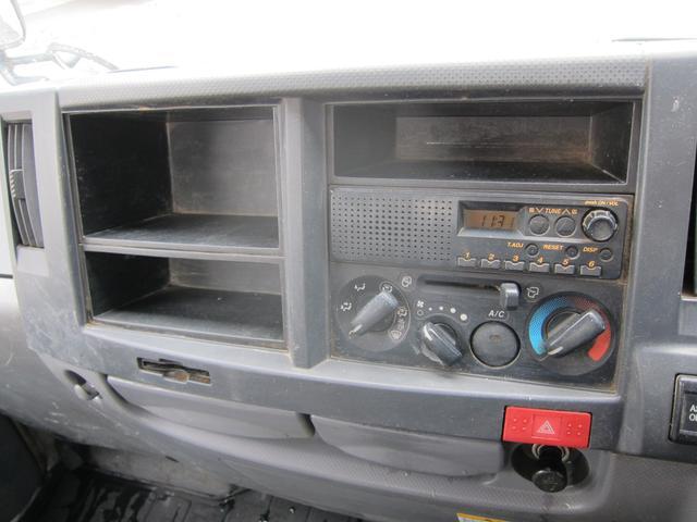いすゞ エルフトラック フルフラットローダンプ