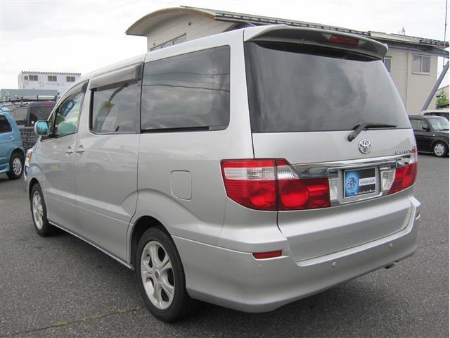 トヨタ アルファードG AX トレゾア アルカンターラバージョン 両側P 4WD