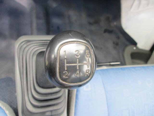 三菱 ミニキャブトラック Vタイプ エアコン 5速 三方開