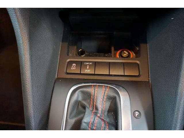 GTI DSG 本革シート シートヒーター(9枚目)