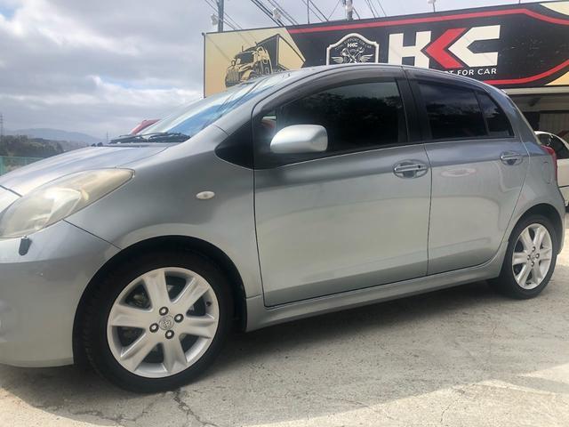 トヨタ ヴィッツ RS AT 社外CDデッキ プッシュスタート スペアキー