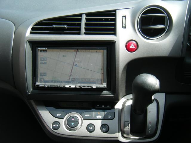 ホンダ ストリーム X スタイリッシュパッケージ HDDナビ 地デジ 社外アルミ