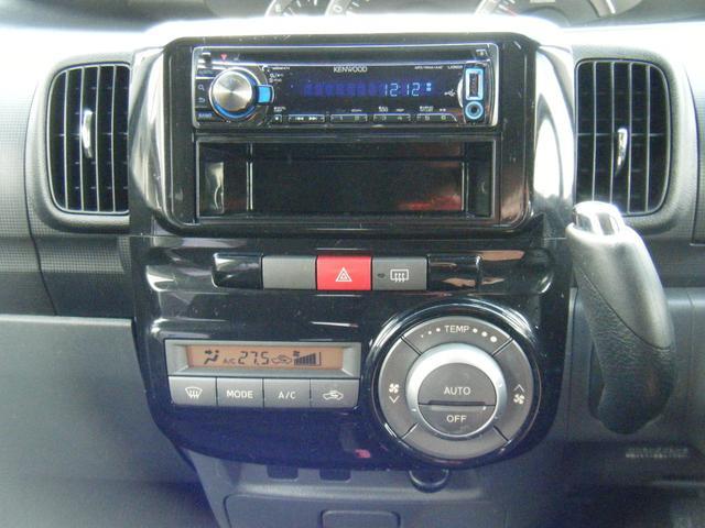 社外CDデッキ。別途でカーナビに変更も可能です。フルセグTVやDVD再生でドライブもさらに楽しくなります♪ぜひご相談ください。