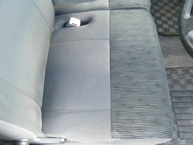 運転席座面。