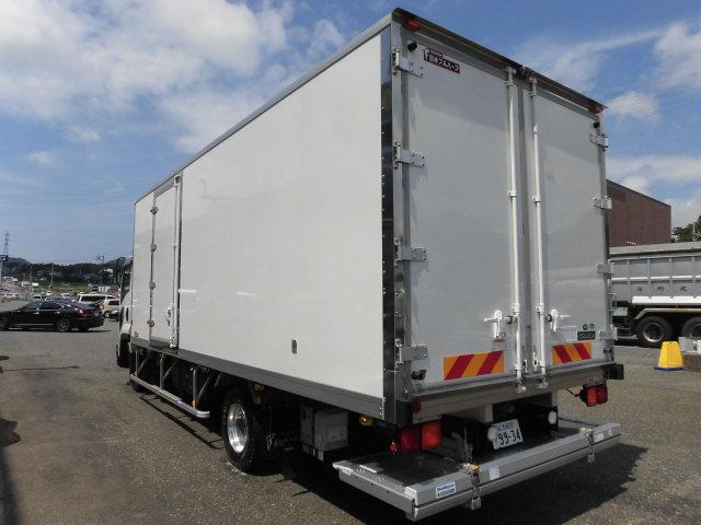 ワイドロング冷蔵冷凍車 格納パワーゲート付(4枚目)
