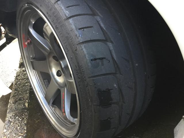 日産 スカイライン GT-R Vスペック GT2530TB レイズTE37SL