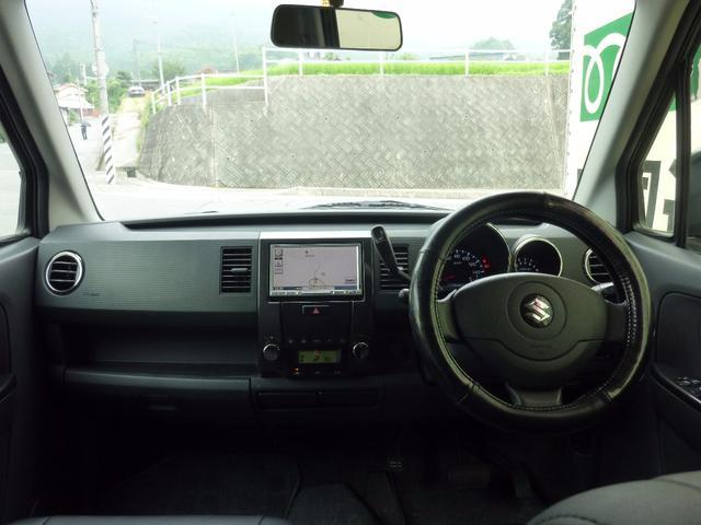スズキ ワゴンR スティングレーX HDDナビ 社外アルミ シートカバー