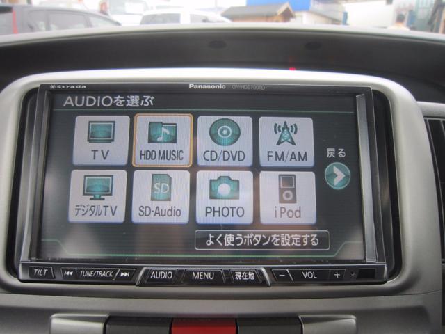 ダイハツ タント Xリミテッド HDD地デジナビ 左側パワースライド ETC