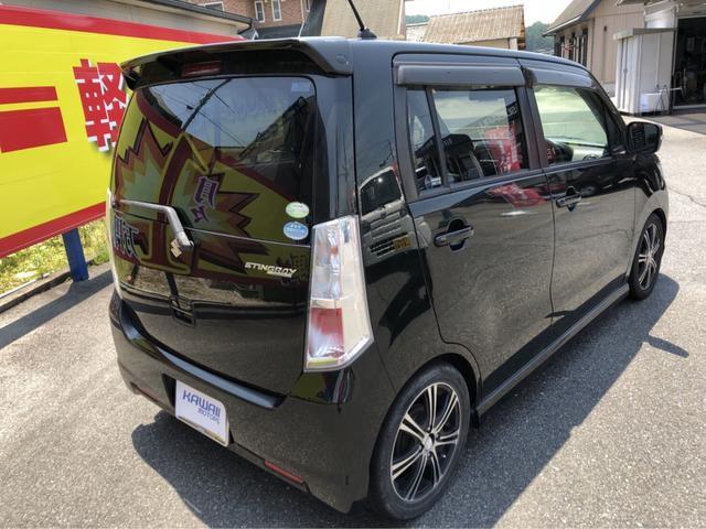 スズキ ワゴンRスティングレー T ナビ TV 軽自動車 ETC インパネCVT エアコン