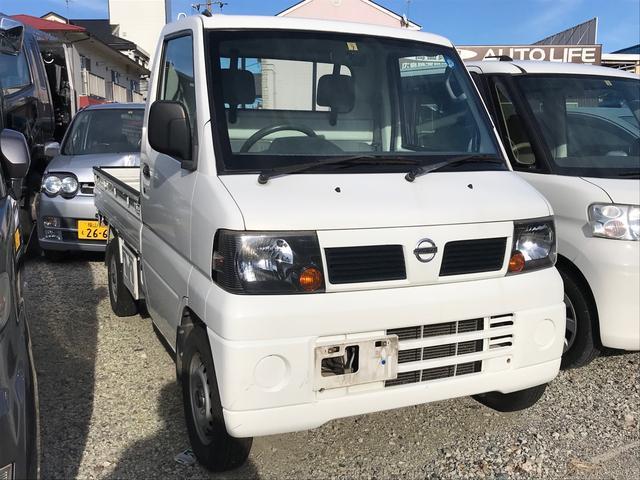 DX 4WD AC MT 軽トラック ホワイト エアバッグ(3枚目)