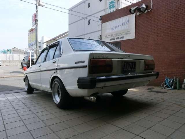 日産 サニー ソレックスハイカム 車高調 マフラー バケット アルミ