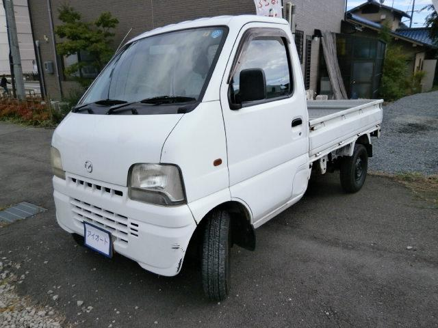 マツダ スクラムトラック KU 5速マニュアル エアコン付き