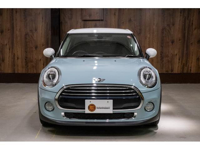 クーパー アイスブルー ホワイトルーフ 400台限定車(3枚目)