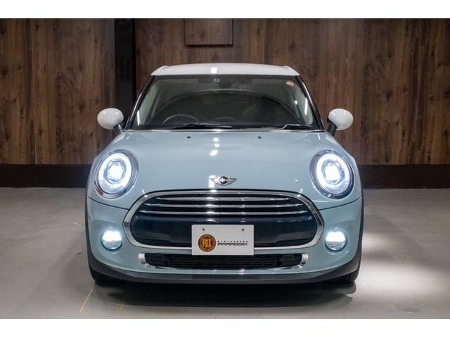 クーパー アイスブルー ホワイトルーフ 400台限定車(4枚目)