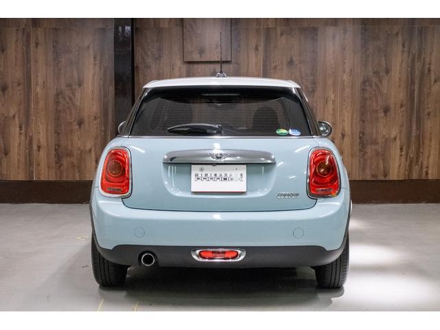クーパー アイスブルー ホワイトルーフ 400台限定車(5枚目)