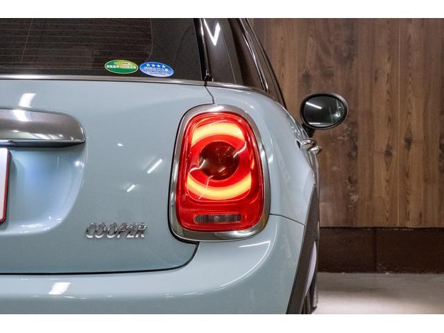 クーパー アイスブルー ホワイトルーフ 400台限定車(11枚目)