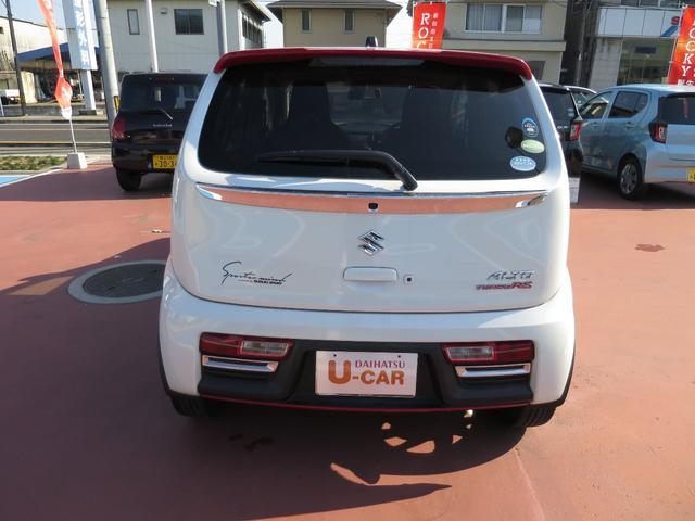 「スズキ」「アルトターボRS」「軽自動車」「広島県」の中古車3