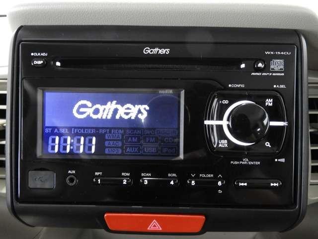 G CDチューナー AUX・USBジャック 社外アルミ(4枚目)