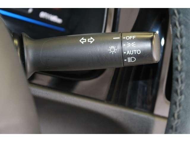 より明るく省電力のLEDヘッドライトを採用しています。点灯忘れを防止できるオートライトコントロール機能付です。