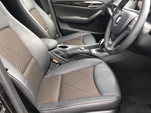 BMW BMW X1 後期 xライン HDD ハーフレザー ミラー型ETC