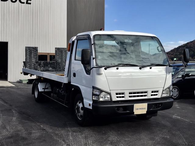 いすゞ エルフトラック エルフ3t積載車 フルフラット
