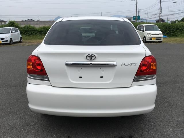 トヨタ プラッツ 1.5X5MTアドバン14アルミ