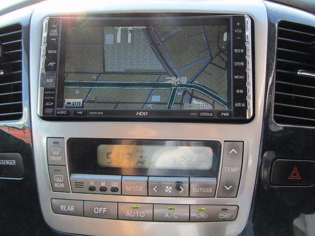 トヨタ アルファードV MZ 車高調 19AW HDDナビ 左側オートスライドドア
