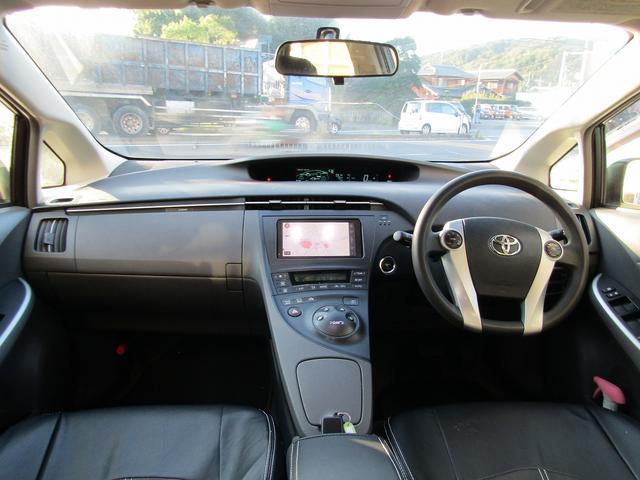 トヨタ プリウス S ダウンサス 18インチアルミ フルエアロ