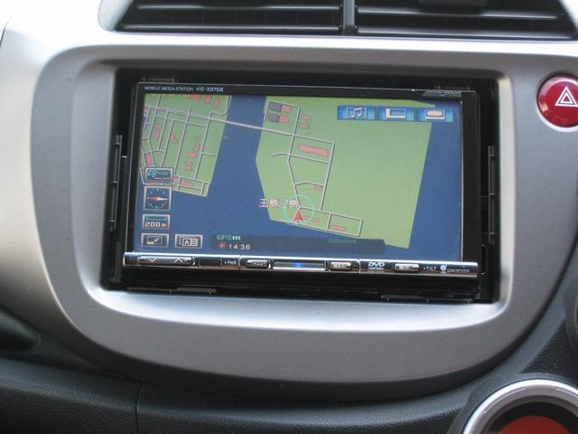 ホンダ フィット 13G・スマートセレクション ファインスタイル HDDナビ