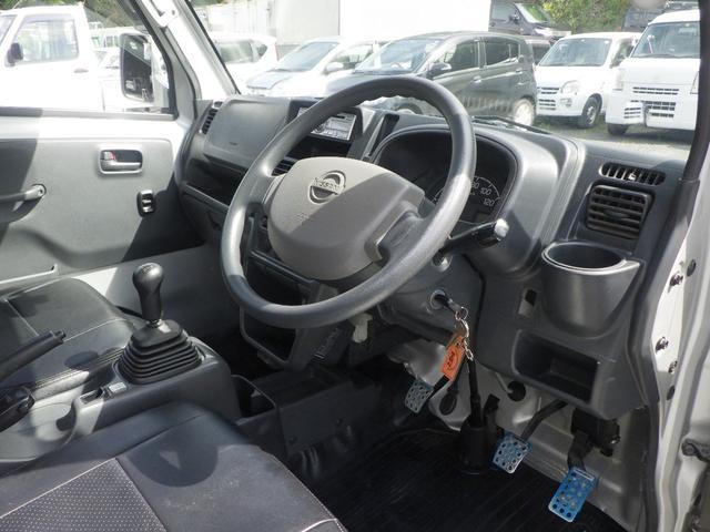 GX 4WD 5MT エアコン パワステ パワーウインドウ フォグランプ キーレス 社外アルミホイール 社外シートカバー 外装仕上げ済み 修復歴無し(14枚目)