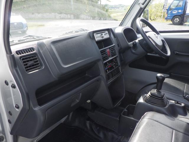 GX 4WD 5MT エアコン パワステ パワーウインドウ フォグランプ キーレス 社外アルミホイール 社外シートカバー 外装仕上げ済み 修復歴無し(17枚目)