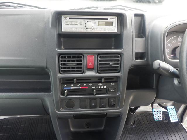 GX 4WD 5MT エアコン パワステ パワーウインドウ フォグランプ キーレス 社外アルミホイール 社外シートカバー 外装仕上げ済み 修復歴無し(22枚目)