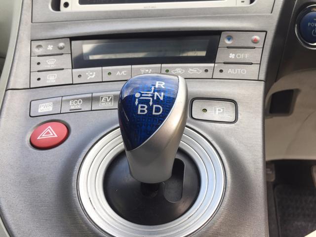 トヨタ プリウス S ビルドインETC 純正メモリーナビ