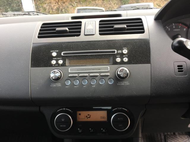 スズキ スイフト 1.3XG キーレス CD 衝突安全ボディ 盗難防止システム