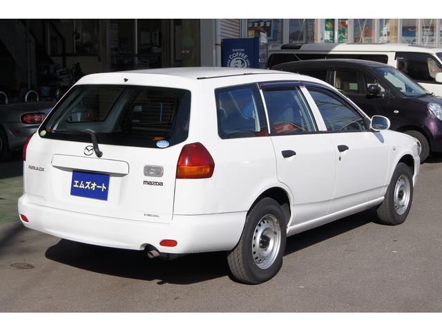マツダ ファミリアバン DX 4WD ワンセグポータブルナビ7インチ ETC